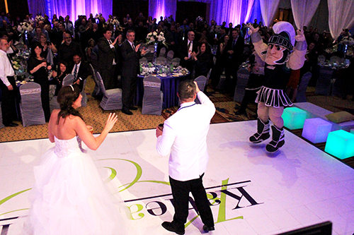 MSU Sparty Pump It Up - Music Box Productions - Michigan Wedding DJ