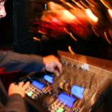 Rod Burnette Music Box Productions Veteran DJ mixing at a Detroit Wedding
